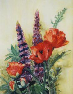 Willkommen-Blumenstrauß